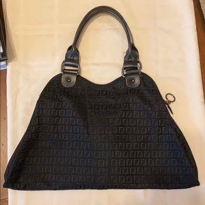 FENDI Black purse (circa 1990's)
